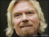 Sir Richard Branson, Getty