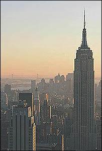 Taken from the Rockefeller Centre. Photo: Ian Pennington