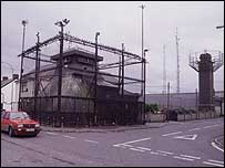 Crossmaglen Police Station, pictured in 1999
