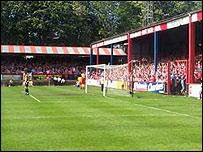 Aldershot's Recreation Ground