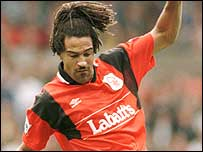 Jason Lee during his Nottingham Forest days