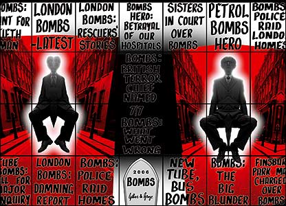 Bombs by Gilbert and George