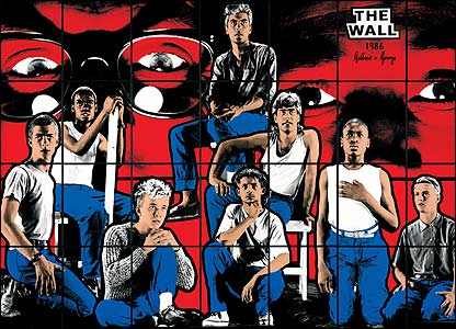 The Wall by Gilbert and George