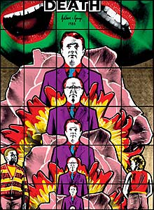 Death Hope Life Fear by Gilbert and George