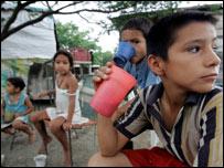 Refugiados colombianos