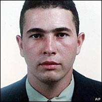Jean Charles de Menezes in 2001