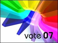 Vote 07 logo