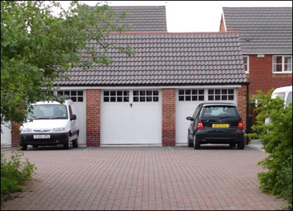 Mr Powis' garage