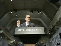 Mitt Romney launches his presidential bid