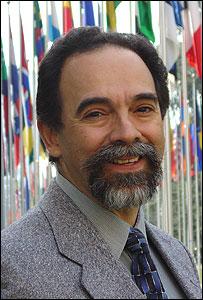 Salvano Briceño, director de Estrategia Internacional para la Reducción de Desastres de la ONU