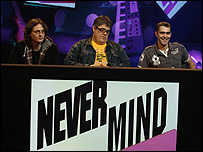 Ed Byrne, Phill Jupitus and Ed Seymour