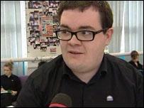 Huw, sixth-former applying to university