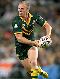 Australia captain Darren Lockyer