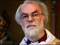 Archbishop of Canterbury, Rowan Williams