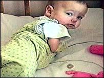 Cornel Hrisca-Munn as a baby