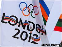 Olympics 2012 flag