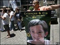 Protest in Rio