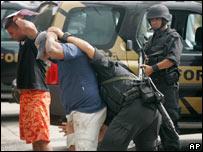 Elite police raid in Rio