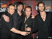 Take That at the Brit Awards