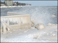 Reader Chris Adams sent this picture of Lake Ontario, Canada