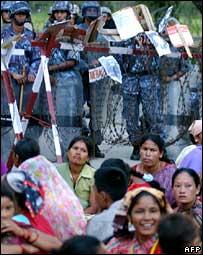 Nepal protest against missing rebels