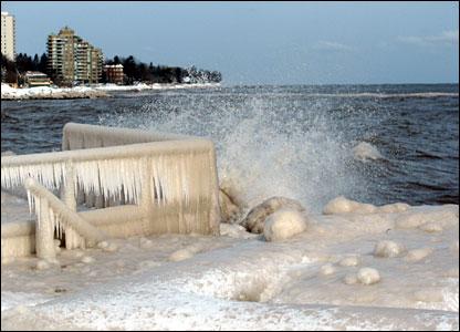 Lake Ontario, Canada: photo from Chris Adams