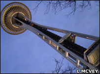 Space Needle, Seattle (Image: Lucy McVey)