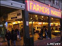 Farmers' market, Seattle (Image: Lucy McVey)