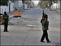 Fatah soldiers