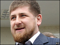 Ramzan Kadyrov in February 2006