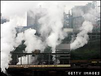 Steel factory, Chongqing, China