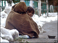 Homeless children in India
