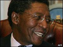 Lesotho Prime Minister Pakalitha Mosisili