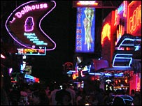 Soi Cowboy, one of Bangkok's sex districts