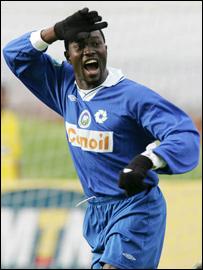 Ghana striker Joetex Frimpong