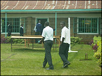 Boys at Kiriani High School