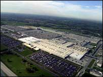 Toyota's vast Kentucky facility