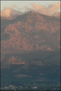 Mountain scene in Corsica