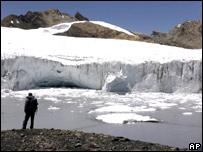 Glaciar en Per�