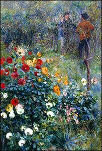 Renoir: Garden in the Rue Cortot, Montmartre, 1876 (Carnegie Museum of Art, Pittsburgh)