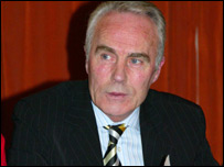 Tyrone chairman Pat D'Arcy