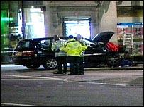 Regent Street accident scene