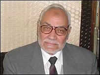 مرشد الأخوان المسلمين مهدي عاكف
