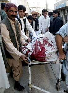 Body of victim