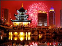 Celebrations in Guiyang, Guangzhou province