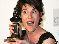 Tamsin Greig at the Olivier Awards
