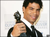 Carlos Acosta at the Olivier Awards