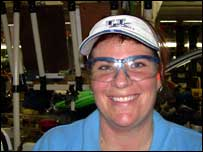 Laura Wilshire, Toyota worker
