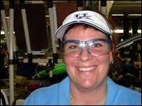 Laura Wilshire, Toyota worker