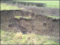 Hole in ground